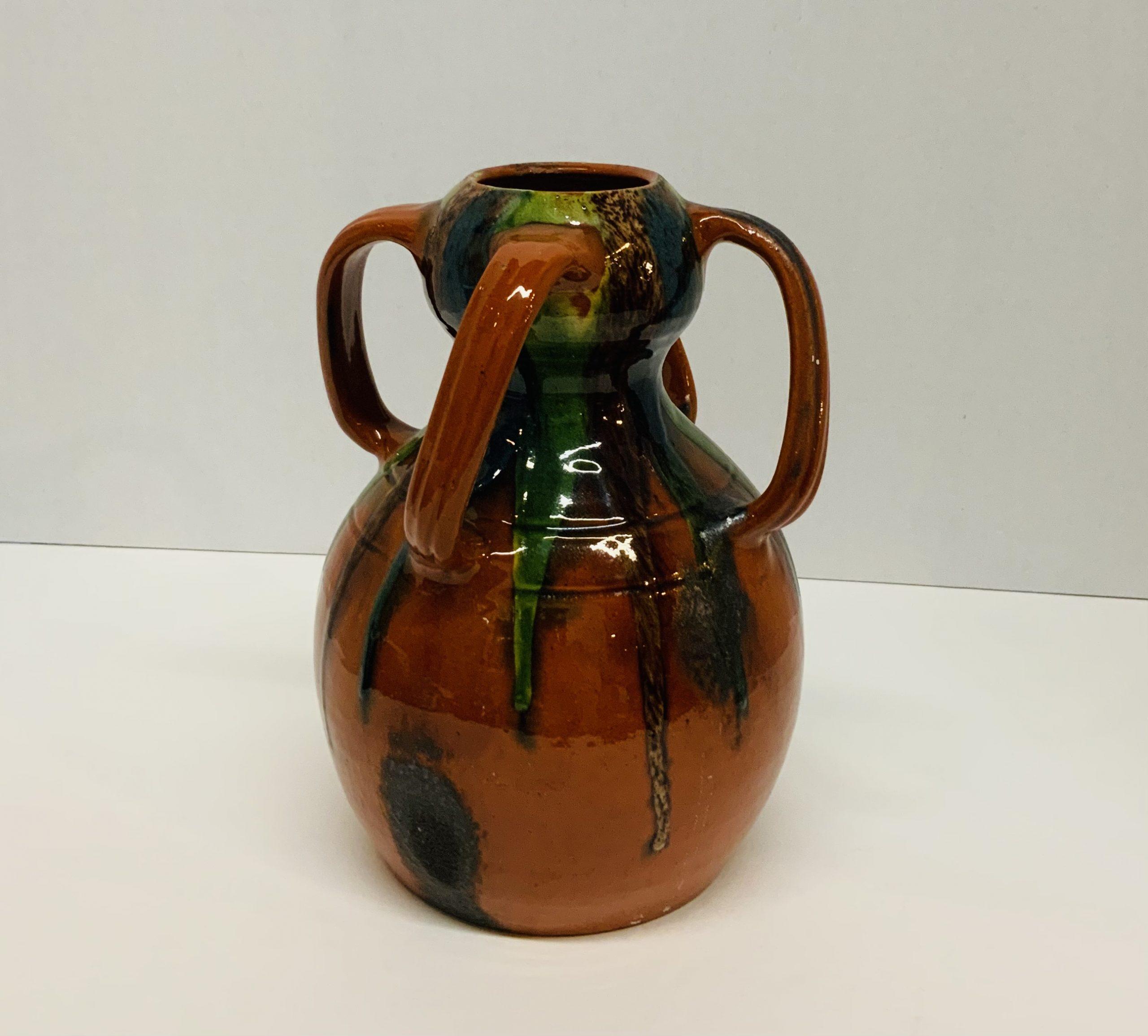 Bruges Pottery Vase